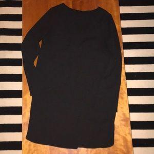 H&M black shift dress size 6 (fits like a 4)